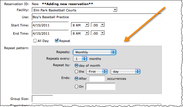 recdesk release facility scheduling reservations plus new