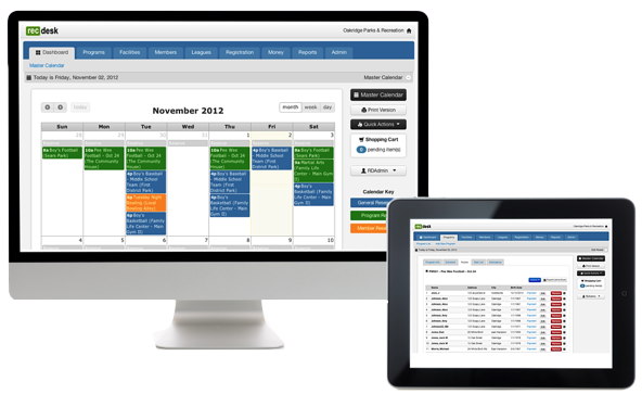 Recdesk Recreation Software With Online Registration
